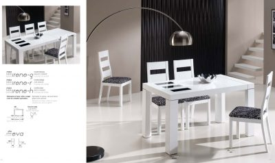 Irene Table, Eva Chairs