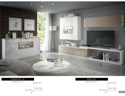 Brands Fenicia Wall Units, Spain Fenicia Wall Unit Salon 04