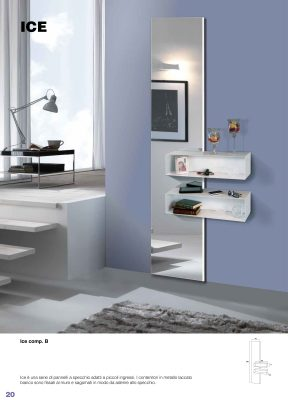 Collections Esa Linea Hall Units, Italy Slim