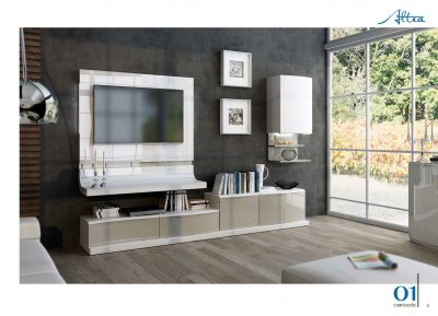 Brands Fenicia Wall Units, Spain Fenicia Wall Unit Salon 06