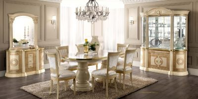 Collections Camel Gold Bedroom and Dining Collection, Italy Aida Dining Additional Items