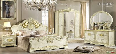 Collections Camel Gold Bedroom and Dining Collection, Italy Leonardo Bedroom Additional Items