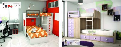 Collections Joype Kids Bedrooms, Spain Composition 33&34
