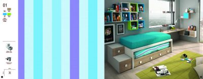 Collections Joype Kids Bedrooms, Spain Composition 1