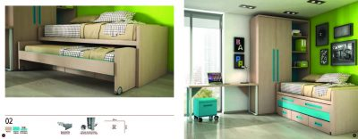 Collections Joype Kids Bedrooms, Spain Composition 2