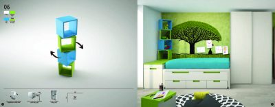 Collections Joype Kids Bedrooms, Spain Composition 6