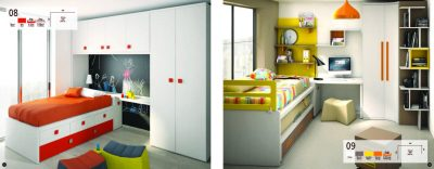 Collections Joype Kids Bedrooms, Spain Composition  8&9