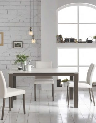 Collections Marcello Ibanez  Modern  Casual Dining Room Spain Bari Table and Monza Chairs