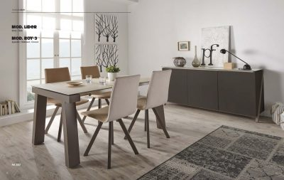 Collections Marcello Ibanez  Modern  Casual Dining Room Spain Lider Table & Mira Chairs