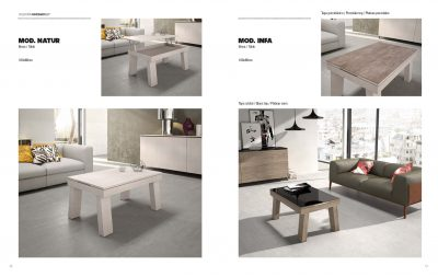 Collections Marcello Ibanez  Modern  Casual Dining Room Spain Natura & Infa Table