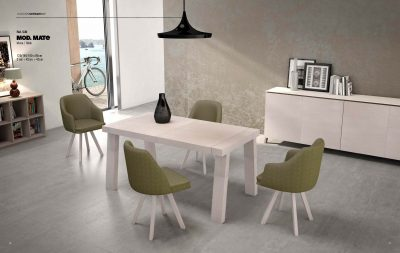 Mate Table & Lyon Chairs