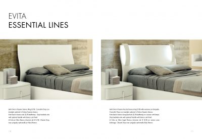 Collections SMA Modern Bedrooms, Italy EVITA BED