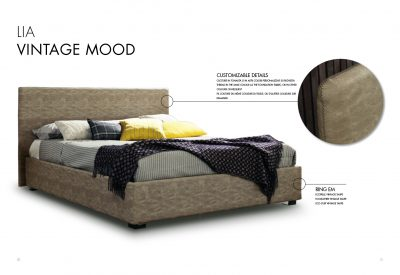 Collections SMA Modern Bedrooms, Italy LIA BED