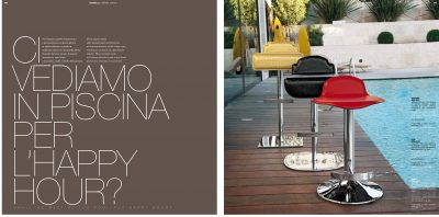 Collections Unico Tables and Chairs, Italy BAR CHAIRS