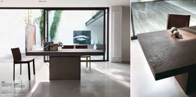 Collections Unico Tables and Chairs, Italy ROGER